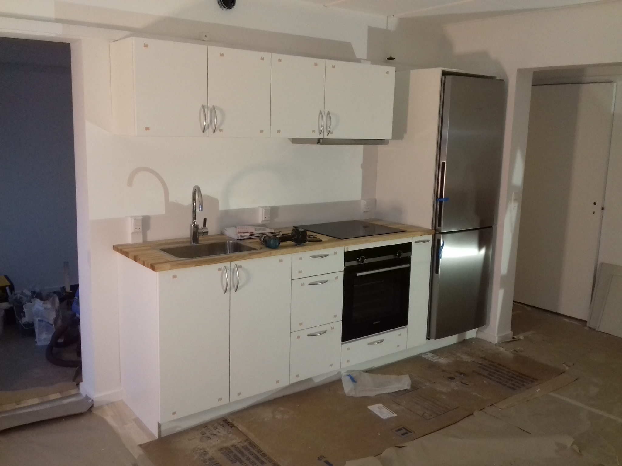 Køkken -div tømrerarbejde